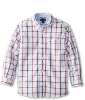 Tommy Hilfiger Kids - Samuel Plaid Shirt (Toddler/Little Kids)