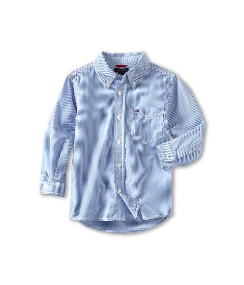 Tommy Hilfiger Kids Tommy Stripe Shirt (Toddler/Little Kids)