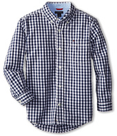 Tommy Hilfiger Kids - Baxter L/S Woven Shirt (Toddler/Little Kids)