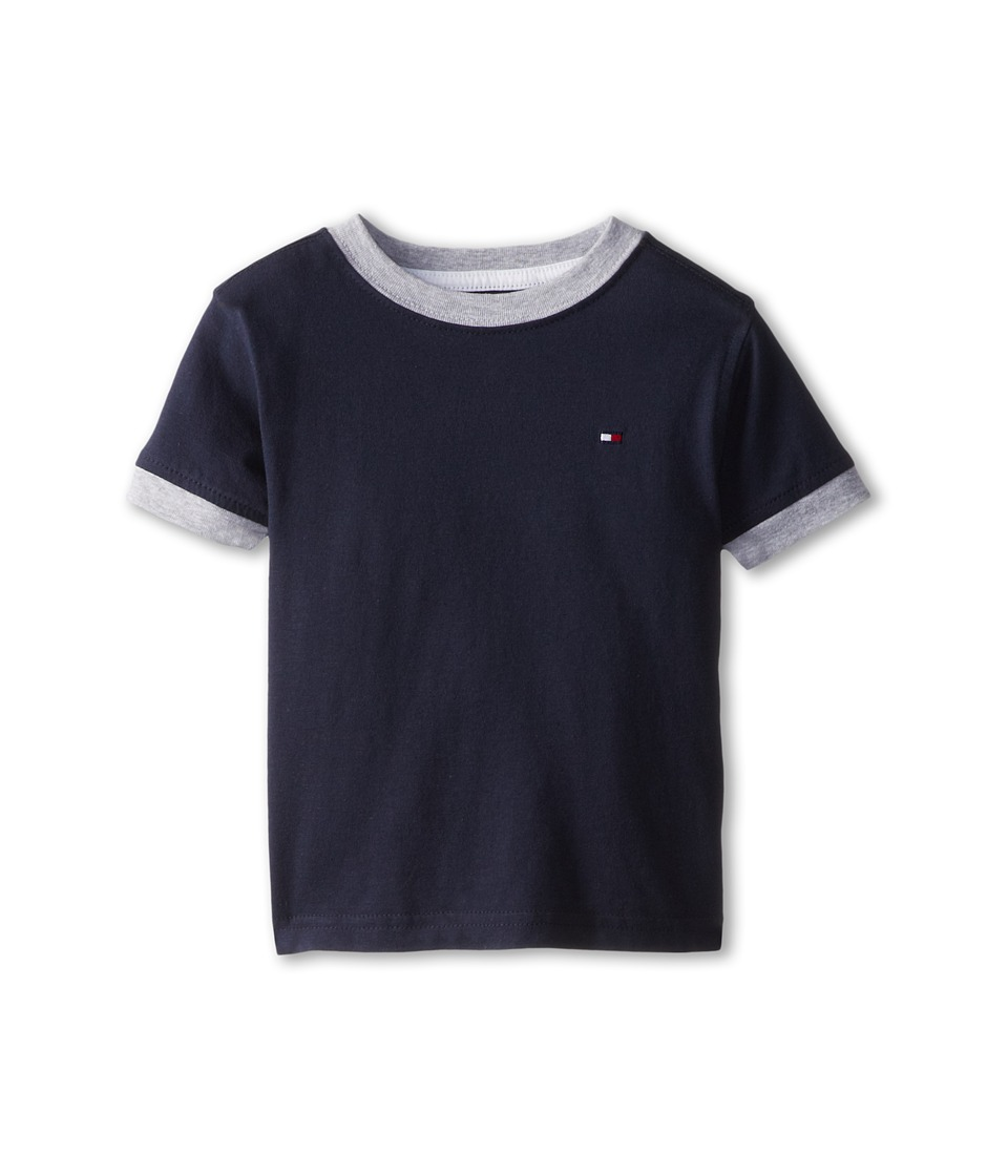 Tommy Hilfiger Kids - Ken Tee (Toddler/Little Kids) (Core Navy) Boys T Shirt