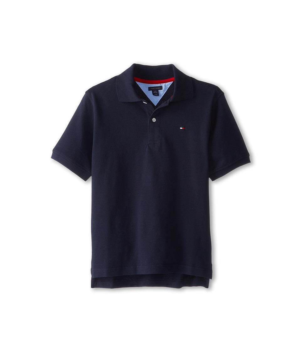 Tommy Hilfiger Kids Ivy Polo Big Kids Masters Navy Boys Short Sleeve Pullover