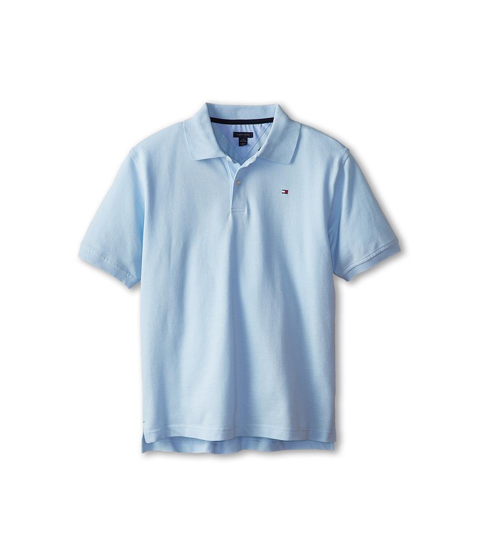 Tommy Hilfiger Kids Ivy Polo Big Kids Capri Blue Boys Short Sleeve Pullover