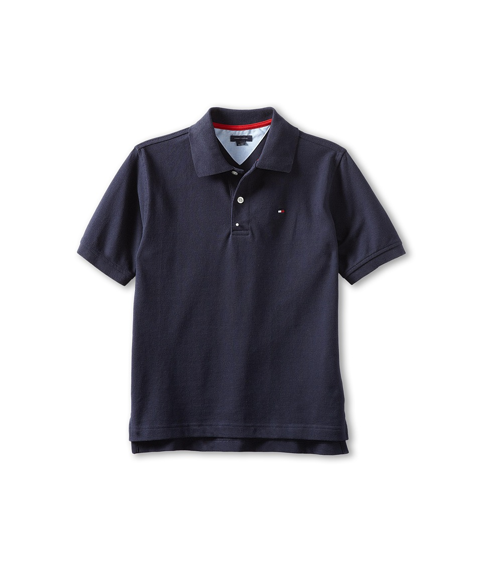 Tommy Hilfiger Kids Ivy Polo Toddler/Little Kids Masters Navy Boys Short Sleeve Pullover