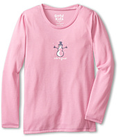 Life is good Kids - Washed Plum Sleep Long Sleeve (Toddler/Little Kid/Big Kid)