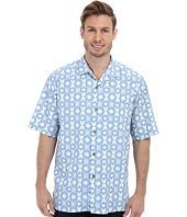 Tommy Bahama - Tile Effect S/S Camp Shirt