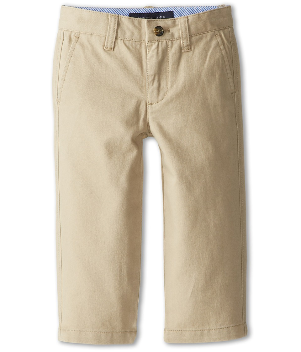 Tommy Hilfiger Kids Academy Chino Pant Toddler/Little Kids Travel Khaki Boys Casual Pants