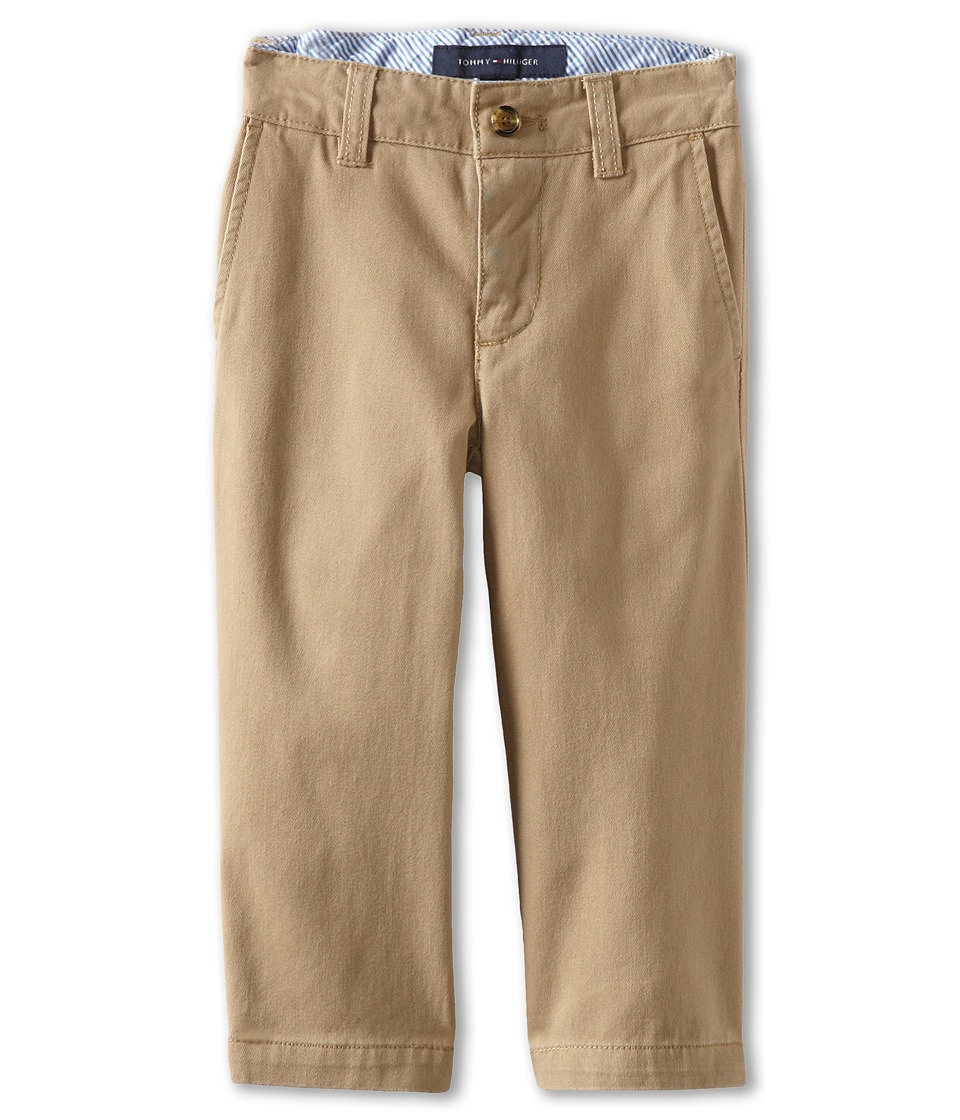 Tommy Hilfiger Kids Academy Chino Pant Toddler/Little Kids Golden Khaki Boys Casual Pants