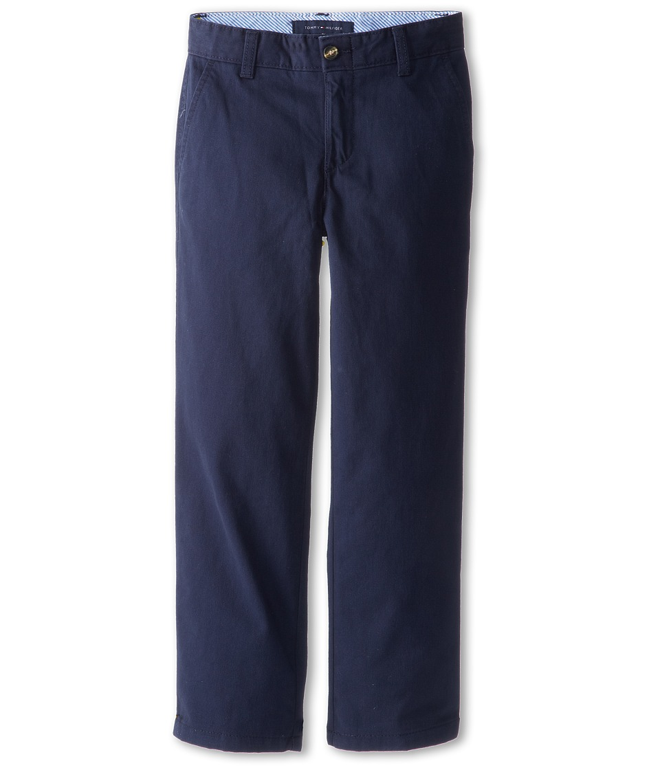 Tommy Hilfiger Kids Academy Chino Pant Toddler/Little Kids Swim Navy Boys Casual Pants