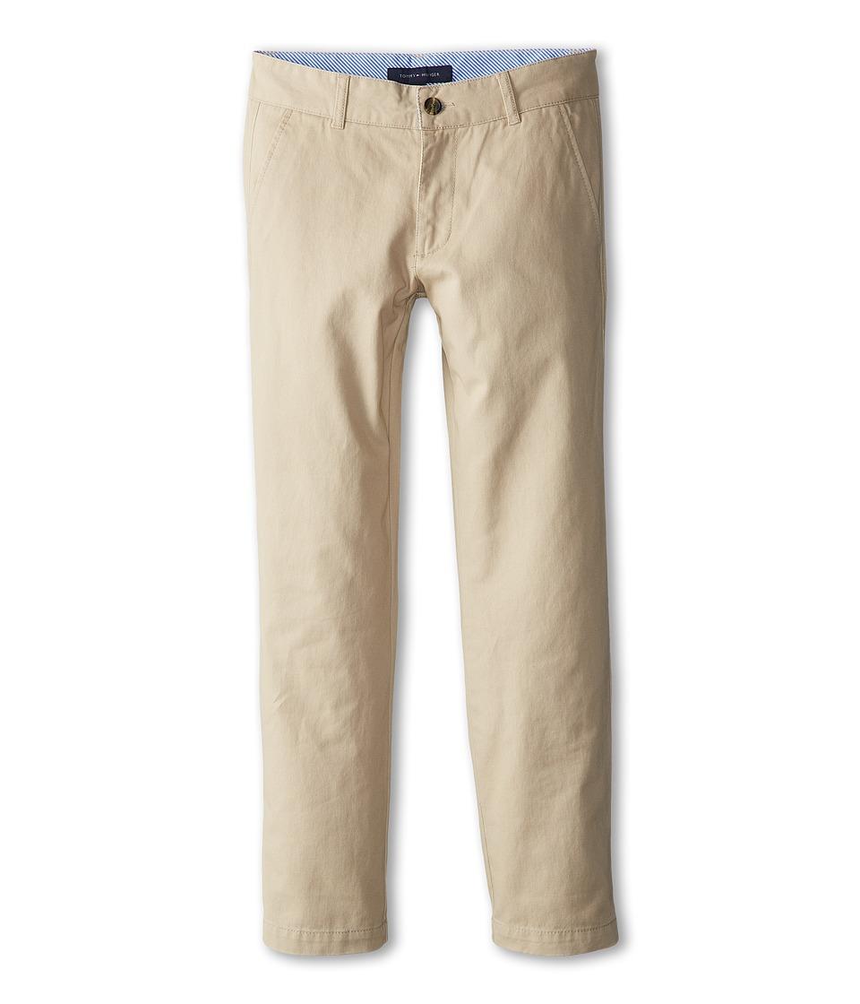 Tommy Hilfiger Kids Academy Chino Pant Big Kids Travel Khaki Boys Casual Pants
