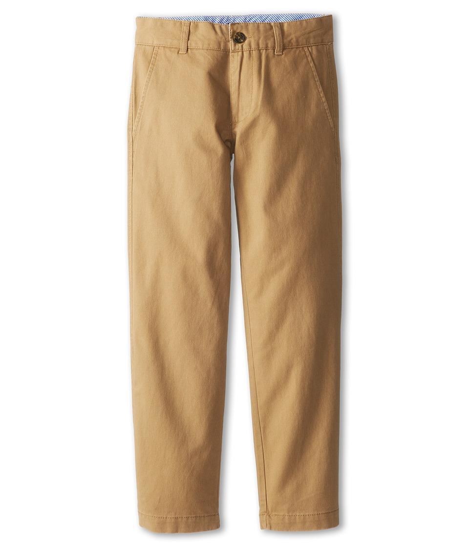 Tommy Hilfiger Kids Academy Chino Pant Big Kids Golden Khaki Boys Casual Pants