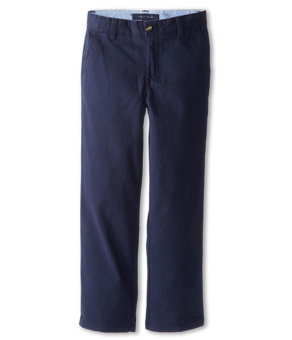Tommy Hilfiger Kids Academy Chino Pant Big Kids Swim Navy Boys Casual Pants