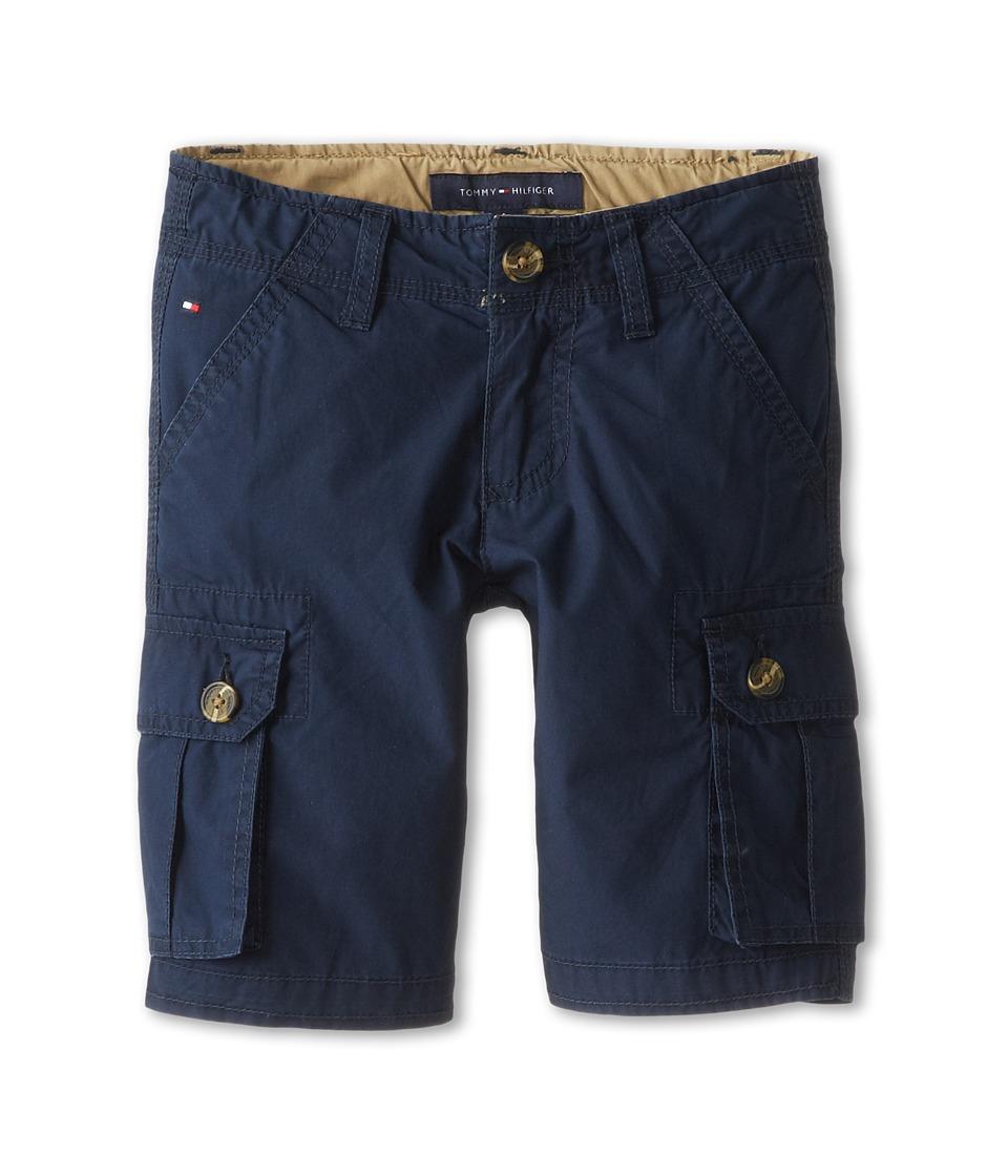 Tommy Hilfiger Kids Back Country Cargo Short Toddler/Little Kids Swim Navy Boys Shorts