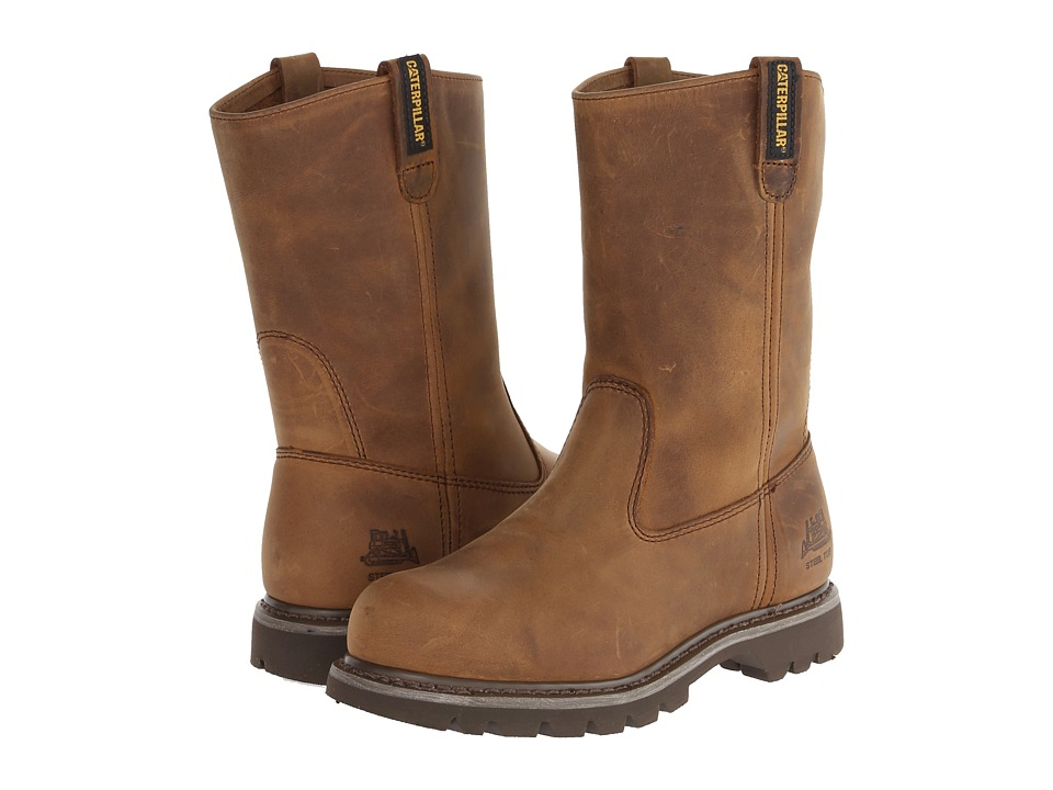 Caterpillar Revolver Steel Toe (Dark Beige Lite Horn) Women