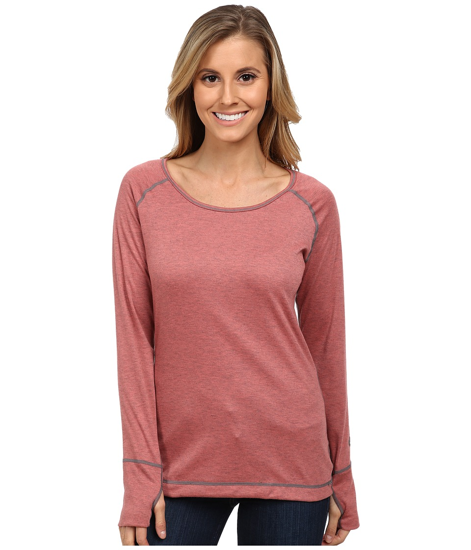 Hot Chillys Geo Pro Scoopneck (Rose/Heather) Women