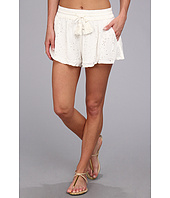 Free People - Eyelet Embellished Short