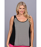 MSP by Miraclesuit - Plus Size Stripes & Brights Layering Tank Top