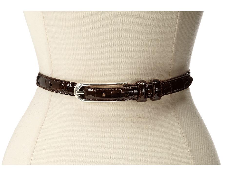 Brighton - Skinny Mini 5/8 Belt (Bronze) Womens Belts