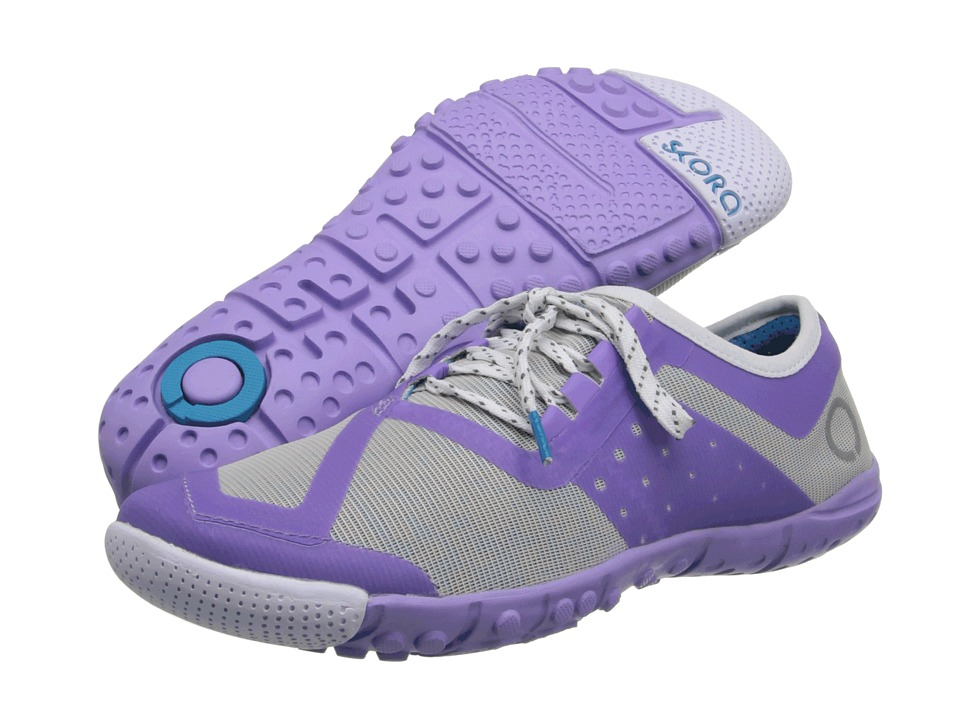 SKORA Phase-X  (Silver/Light Purple/White) Womens Running Shoes