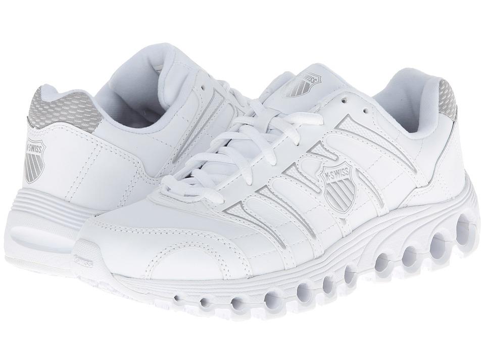 K-Swiss - Grancourt II Slip Resistant (White/Silver) Womens Running Shoes