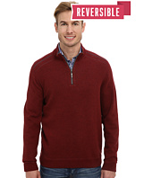 Tommy Bahama - New Flip Side Pro Reversible Half Zip Sweatshirt