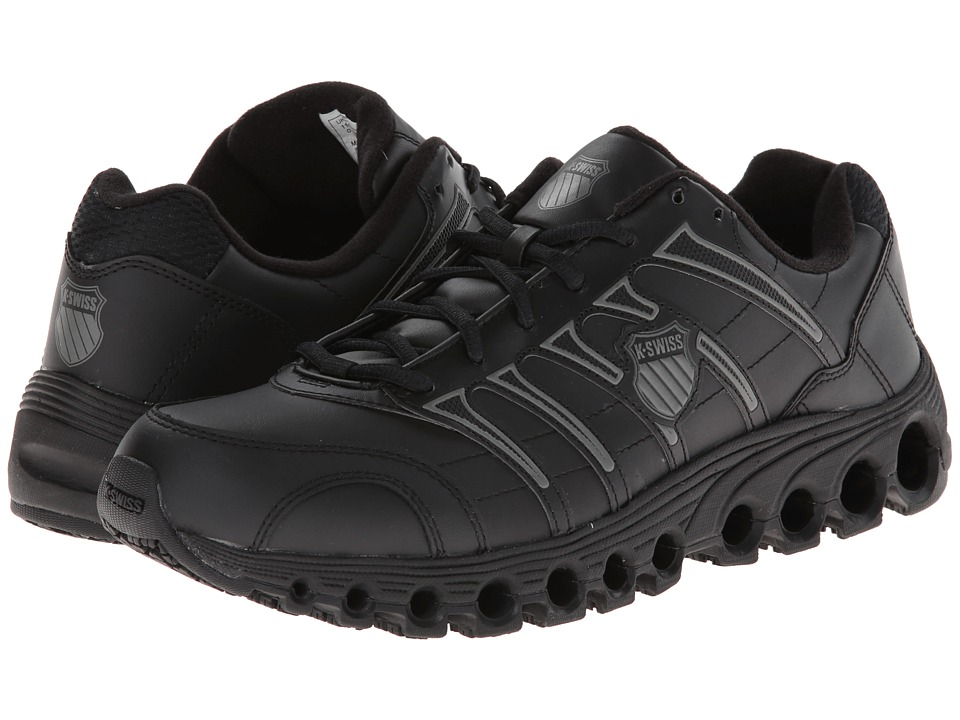 K-Swiss - Grancourt II Slip Resistant (Black/Charcoal) Men