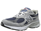 New Balance M990 Navy, Cool Grey Shoes