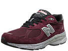 New Balance M990 Burgundy Shoes
