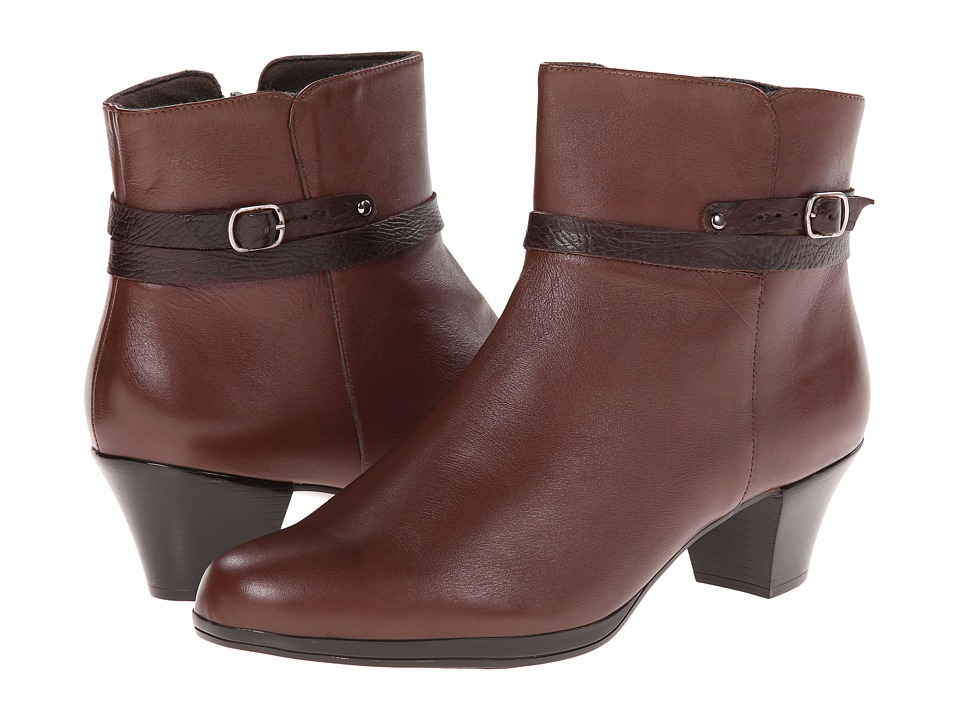 Munro American Dylan Cognac Leather Womens Boots