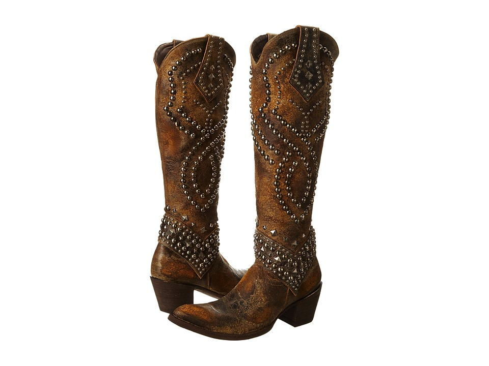 Old Gringo - Belinda (Tan) Cowboy Boots