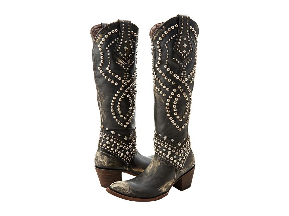Old Gringo Belinda Black/Beige Cowboy Boots