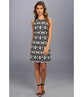 Vince Camuto - Sleeveless Tribal Inspired Jacquard Dress
