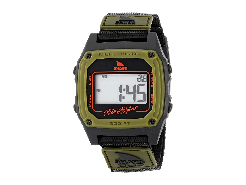 Freestyle Shark Clip Green/Black Watches
