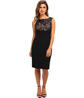 Adrianna Papell - Empire Lace Top Sheath Dress