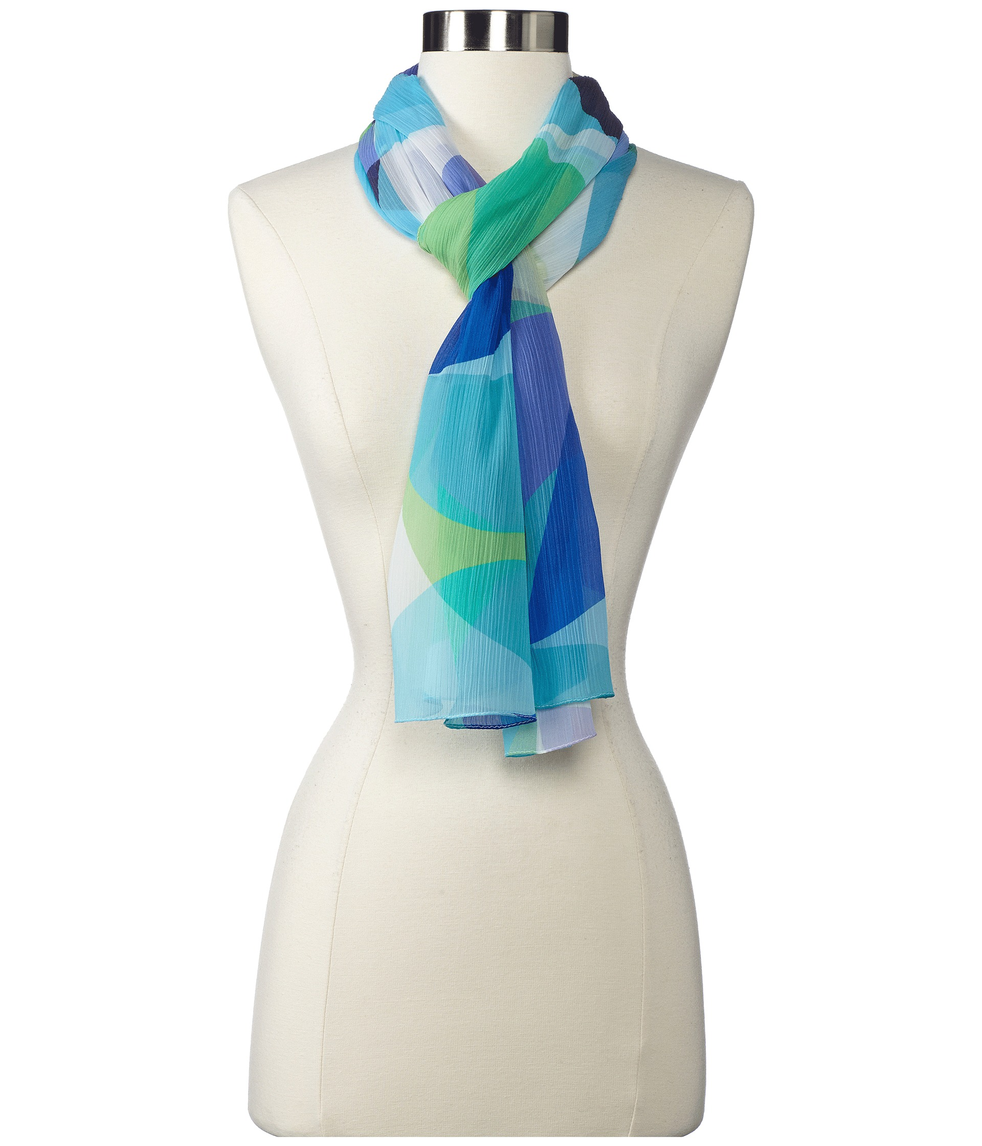echo design groovy geo scarf shipped free at zappos
