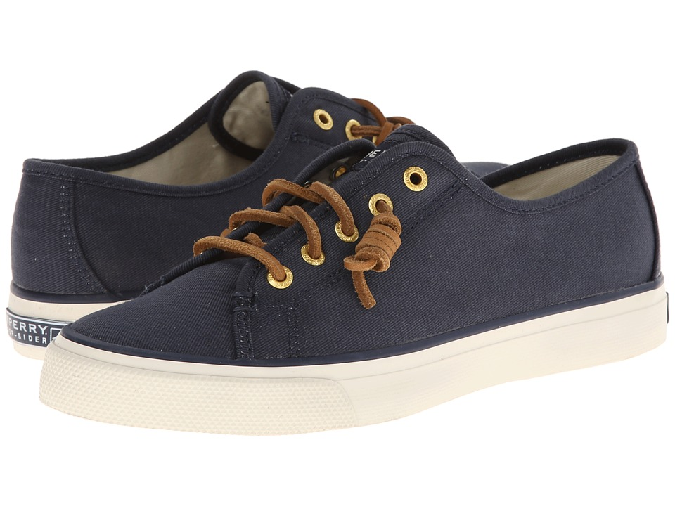 Sperry Top-Sider Seacoast (Navy Burnished Canvas) Women's...