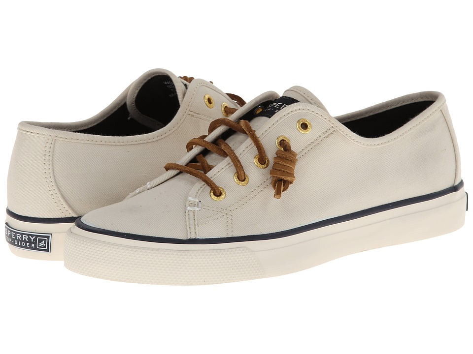 Sperry Top Sider Seacoast Ivory Womens Lace up casual Shoes