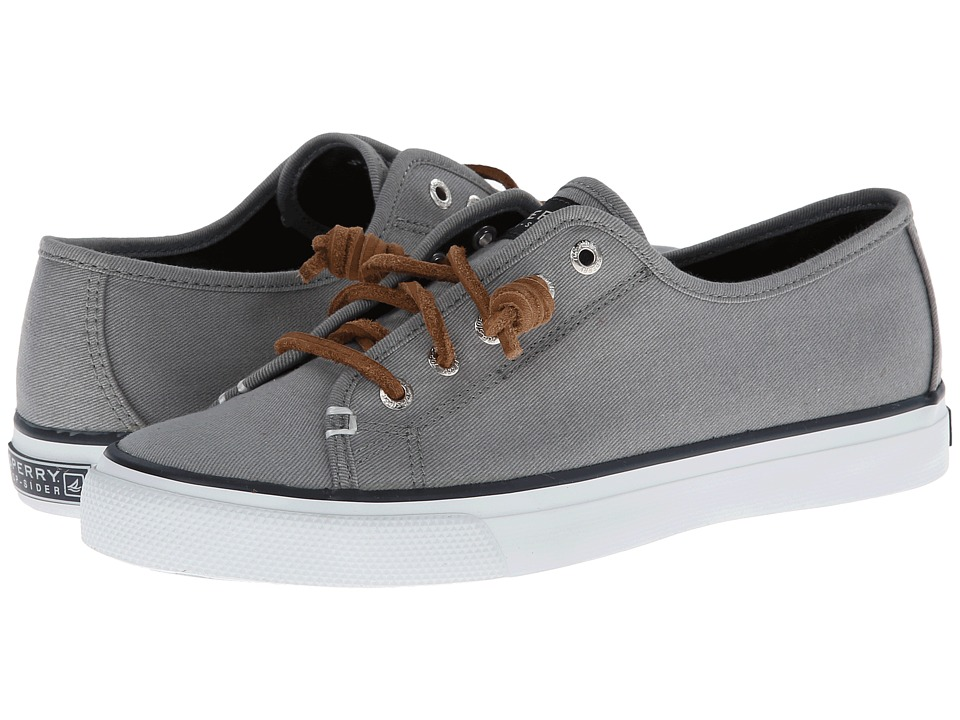 Sperry Top-Sider Seacoast (Charcoal Burnished Canvas) Wom...