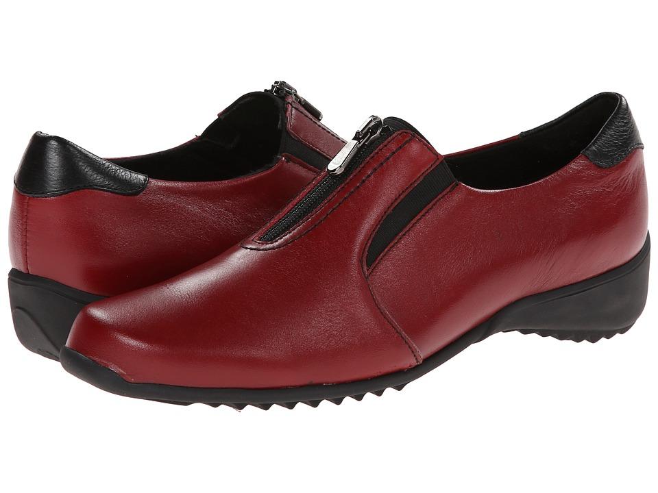 Munro Berkley (Red Leather) Women