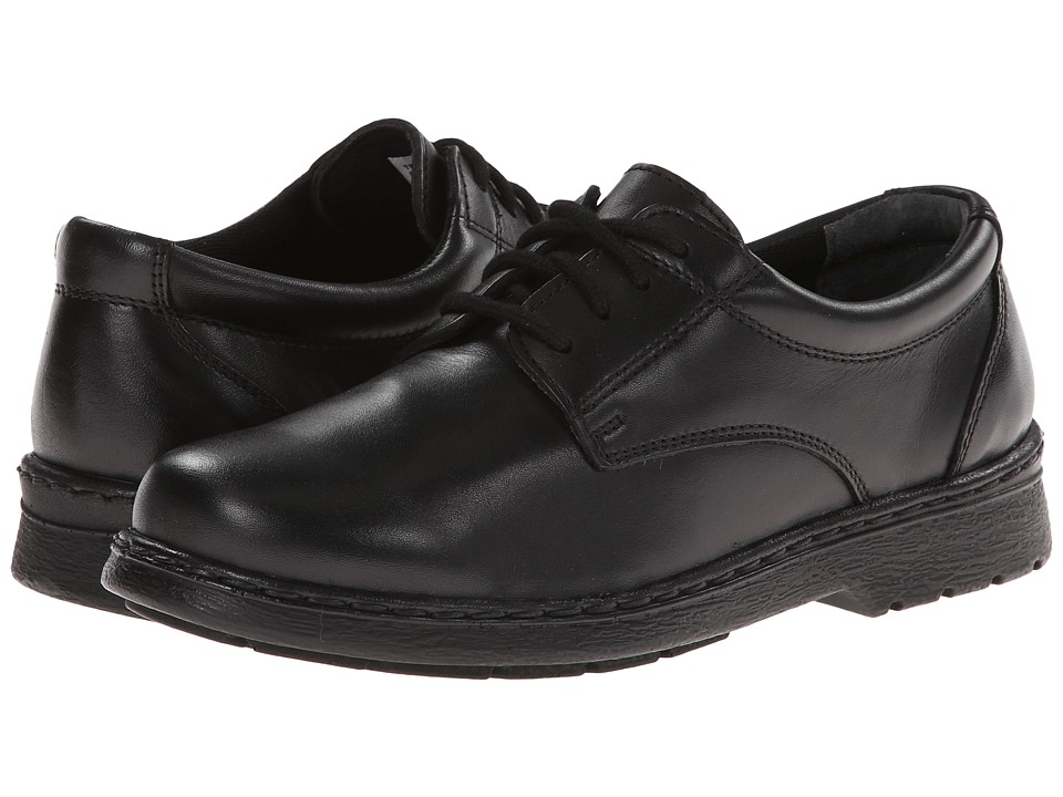 Jumping Jacks Kids - Ted (Toddler/Little Kid/Big Kid) (Black Leather) Boys Shoes