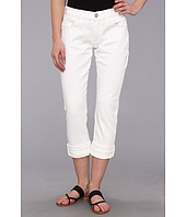 True Religion - Audrey Rolled Relaxed Slim in Casa Blanca