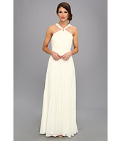 Laundry by Shelli Segal - Gathered Bodice Shimmer Gown