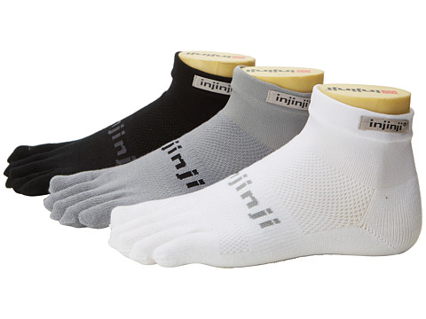 Injinji Run Original Weight Mini-Crew Coolmax 3 Pair Pack