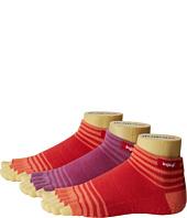 Injinji - Yoga Original Weight Half Toe Micro 3 Pair Pack