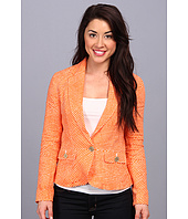 MICHAEL Michael Kors - Petite One Button Peplum Jacket