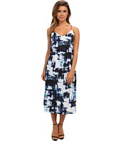 Vince Camuto - S/L Watercolor Express High Waist Dress
