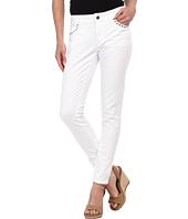 MICHAEL Michael Kors - Petite Rivet Stud Skinny Jean in White