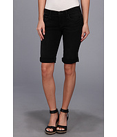 True Religion - Savannah Mid-Rise Slim Rolled Bermuda in Black Seas