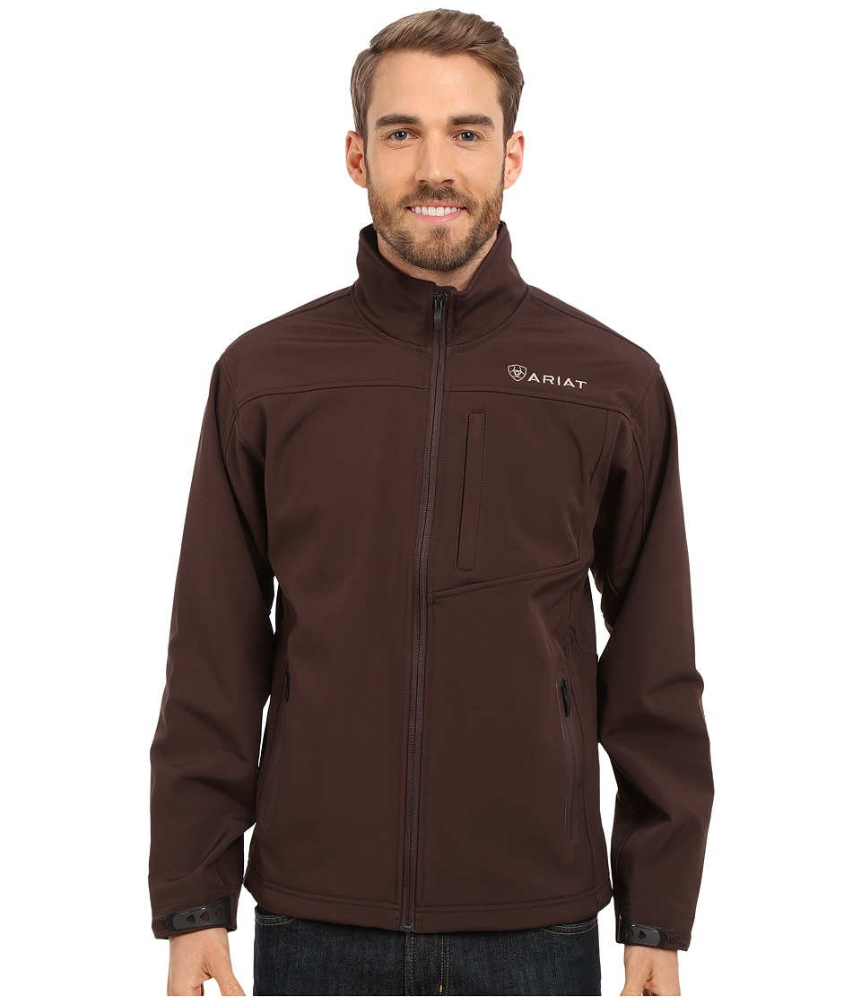 Ariat Vernon Softshell Jacket (Coffee Bean) Men