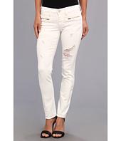 True Religion - Victoria Moto Skinny in Optic White