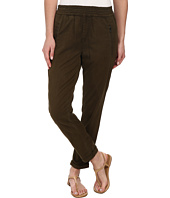 7 For All Mankind - Soft Pant With Cuffed Hem in Olive Enzyme Twill